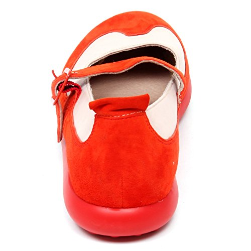 Camper D9302 (Without Box) Ballerina Donna Orange/Pink Twins Scarpe Shoe Woman arancione/rosa