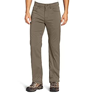 prAna Living Men's Brion 32-Inch Inseam Pant, 32, Mud