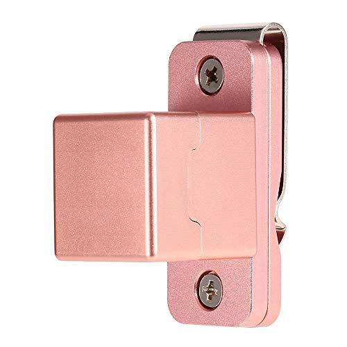 Lixada Cue Chalk Case Billiard Pool Stick Chalk Holder Cue Chalker Clip-on Magnetic Cue Chalk Holder Pocket
