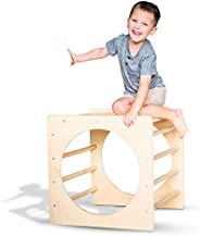 Tottlr Climbing Cube - Indoor Climber - CPSIA Certified Safe - Great Climbing Triangle Alternative - Wooden To