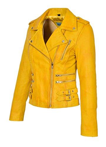 Manches A1 Goods Jaune Femme Blouson Longues Fashion qqU1Wxvatn