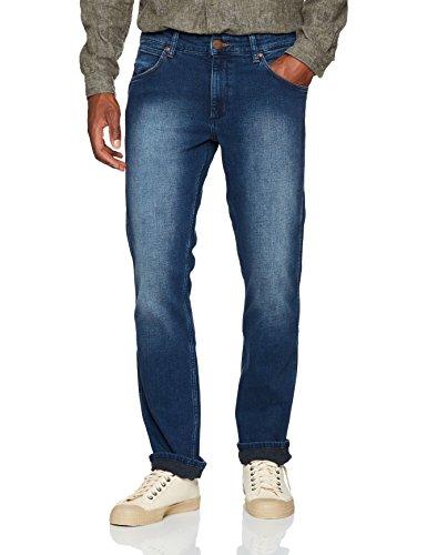 Blu Brushed Straight Uomo 4q Greensboro Jeans blue 30w Leg 34l Wrangler aXHq0Pwx