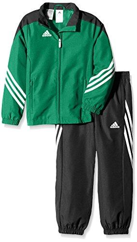 adidas Boys Tracksuit Woven Sereno14 Boys Presentation Football Training Suit Green/Black 7-15 Years F49682 (152cm (Large (Adidas Soccer Suit)