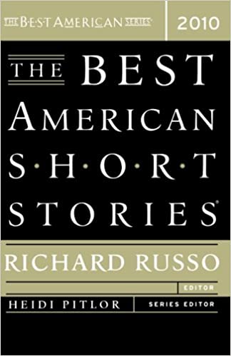 The Best American Short Stories 2010 Richard Russo Heidi Pitlor 9780547055329 Amazon Books
