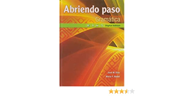 Abriendo paso gramatica digital edition pearson 9780133237993 abriendo paso gramatica digital edition pearson 9780133237993 amazon books fandeluxe Image collections