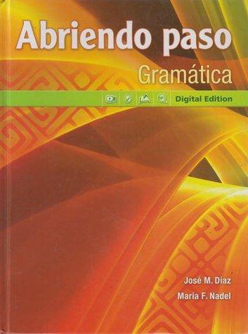 Abriendo paso Gramatica: Digital Edition