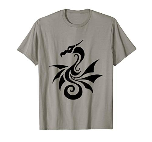- Abstract Asian or Celtic Dragon T-shirt