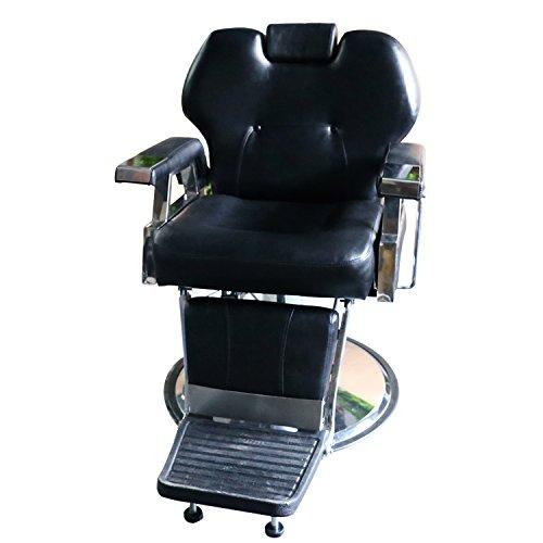 Wonlink All Purpose Hydraulic Recline Barber Chair Salon Beauty Spa Shampoo Hair Styling (black) (Chair Barber Shop Cheap)