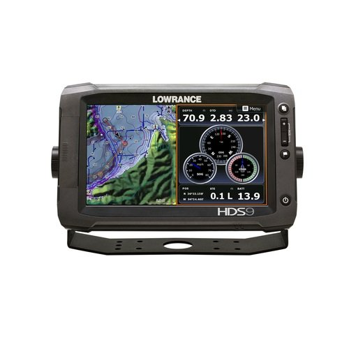Lowrance HDS-9 Gen2 Touchscreen Charplotter with 83/200 KHz Skimmer Review