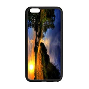 Tobe beautiful nature scene sunset and river Custom Case for iPhone6 Plus 5.5; (Laser Technology)