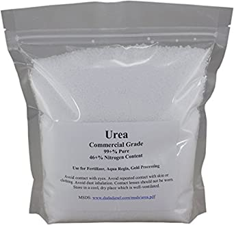 Urea 99+% Pure Commercial Grade 46-0-0 Granular/Prilled Fertilizer Aqua Regia