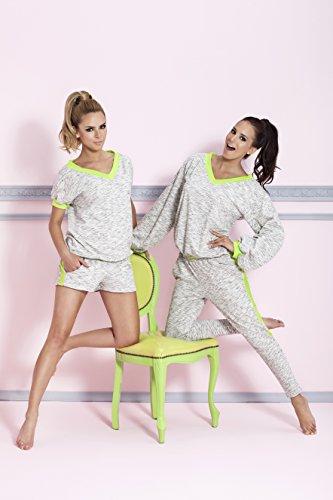 PIGEON Lingerie - Pijama - Manga corta - para mujer Multicolor