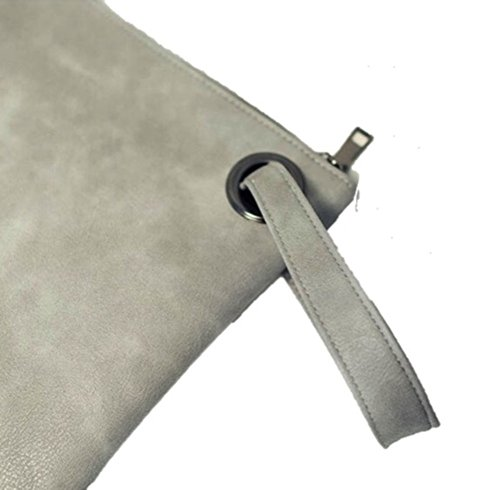 Gray daily Evening clutch casual bag and xOA1qw0