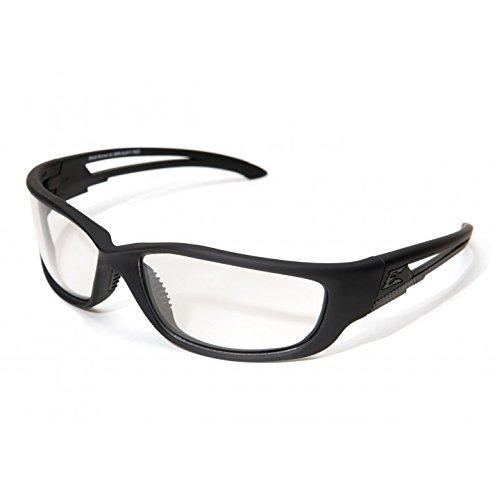 Edge Tactical Eyewear SBR-XL611 Blade Runner Matte Black with Clear Lens, X-Large