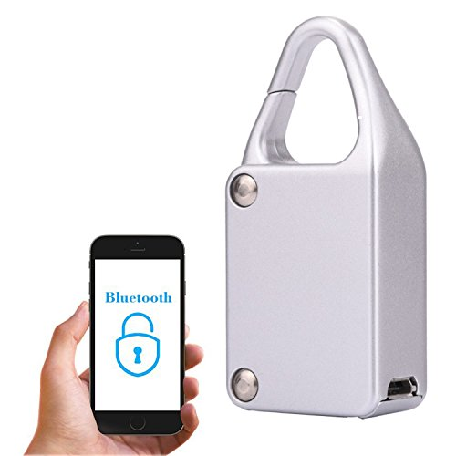 Inalámbrico Candado Bluetooth Smart Lock Candado – Keyless Control Remoto Locker, keyless nuevo metal diseño Wireless...