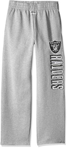 - Zubaz NFL Oakland Raiders Male Sweatpant, Medium, Gray