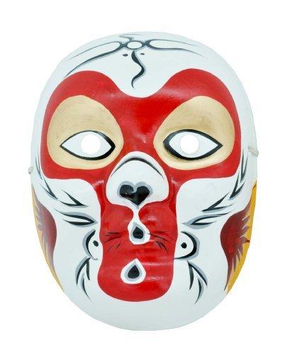 Chinese Opera Mask (Beijing Opera Mask, Chinese Opera Mask, Costume Mask, Face Mask, Monkey King Mask)