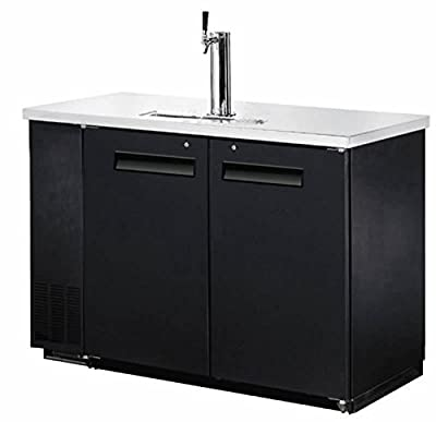 "48"" Single Tap Keg Beer Can Bottle Dispenser Refrigerator Stainless Steel Top UDD-24-48, Kegerator Fridge"
