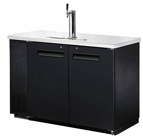 48″ Single Tap Keg Beer Can Bottle Dispenser Refrigerator Stainless Steel Top UDD-24-48, Kegerator Fridge