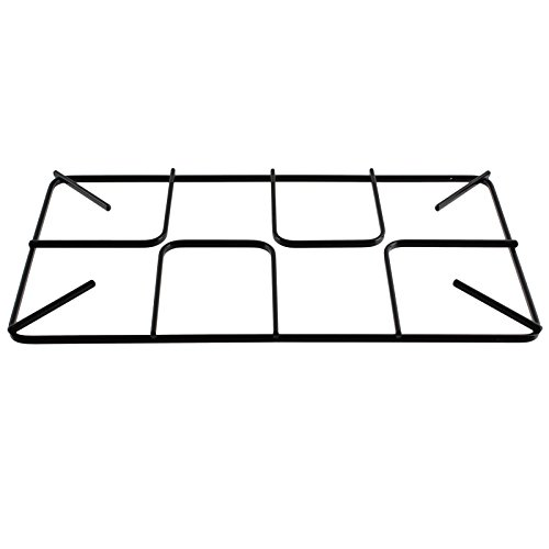 Spares2go Pan Support Grid For Flavel Oven Cooker Flat Gas Hob (450mm x 245mm, Large)