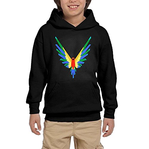 TanGroup Youth Customized Hoodie Logan Paul M365 Logo Fashion Parrot Logo Sports Youth Sweater