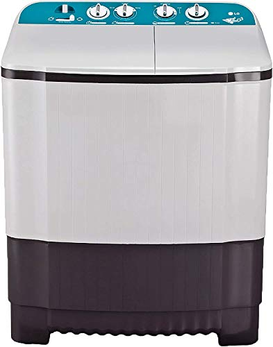LG 6 Kg Semi-Automatic Top Loading Washing Machine (P6001RG, Dark Grey, Roller Jet Pulsator) 2021 June Semi-automatic washing machine: Economical have both washing and Spinning functions Capacity 6 Kg : Suitable for bachelors & couples Warranty: 2 Years comprehensive on product