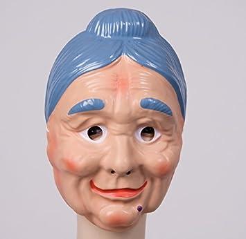 Festartikel Muller Gesichtsmaske Alte Frau Maske Oma Karneval