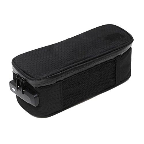 - Cali Crusher 100% Smell Proof Soft Case w/Combo Lock (9.5in x 4in x 3.5in) (Black)