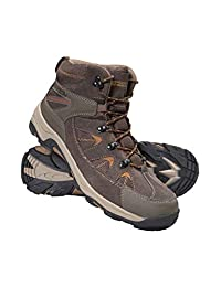 Mountain Warehouse Rapid Mens Waterproof Boots - Durable Hiking Shoes