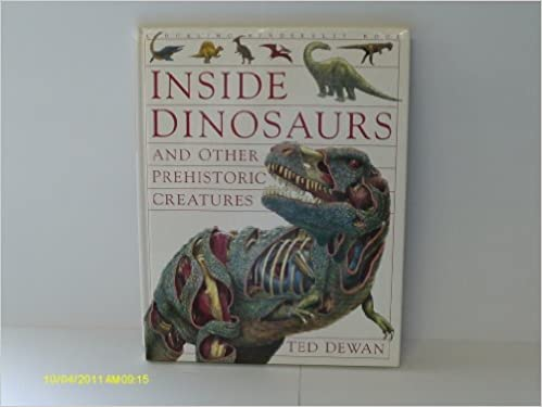 Descarga gratuita de libros electrónicos para reproductores de mp3. Inside Dinosaurs and Other Prehistoric Creatures PDF PDB CHM
