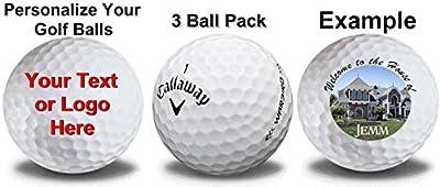 Callaway Warbird Custom Logo Golf Balls 3-Pack Golf Balls