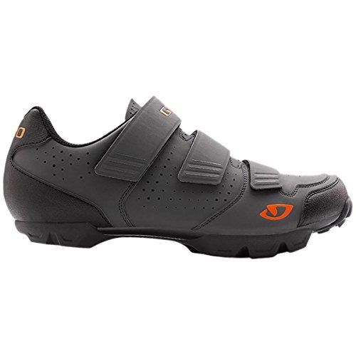 Giro 2016 Carbide R Dirt Cycling Shoes - Dark Shadow/Flame (Dark Shadow/Flame - 39)
