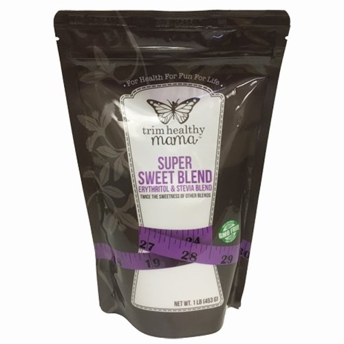 Trim Healthy Mama Super Sweet Blend Erythritol & Stevia Blend 1 lb