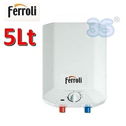 Calentador de agua 5 Lt-Calentador eléctrico Ferroli NOVO