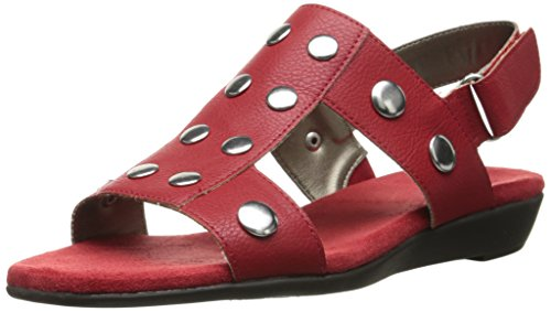 Sandal AT Aerosoles Gladiator Aerosoles Heart Womens Womens AT Red fwxIqSx0HW