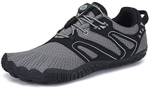 SAGUARO Unisex Barfußschuhe Outdoor Sport Traillaufschuhe Minimalistische Zehenschuhe, Gr. 36-46
