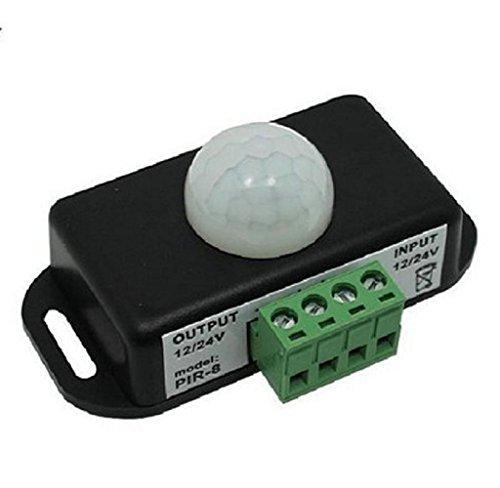 Automatic DC 12V-24V 8A Infrared PIR Motion Sensor Switch For LED light - 4