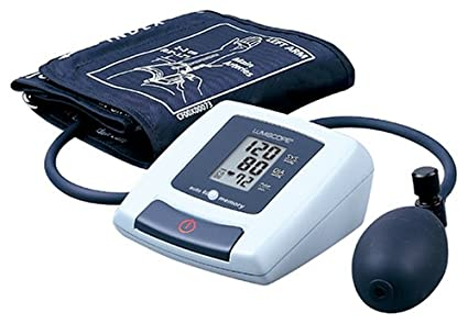 Amazon.com: Lumiscope 1100 Digital Upper Arm Blood Pressure and Pulse Monitor, Semi-Auto Inflation: Health & Personal Care
