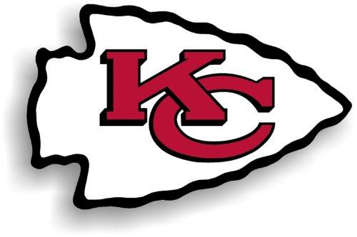 NFL Kansas City Chiefs 12-Inch Vinyl Logo Magnet