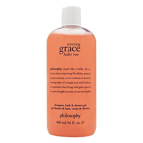 Amazing Grace Ballet Rose Shampoo, Bath & Shower Gel, 16-oz.
