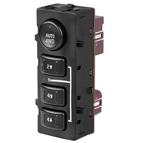 - 4WD Switch, 4x4 Switch Transfer Case Replaces 15136039, 15164520, 19259313, 901-072 for 2003-2006 Chevy Avalanche Suburban Tahoe, 2003-2007 Chevy Silverado, 2003-2006 GMC Yukon, 2003-2007 GMC Sierra