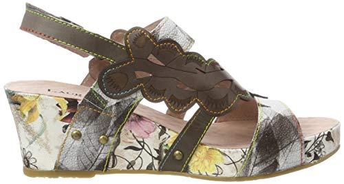 Ouvert gris Sandales Facdiao Bout 03 Vita Laura Gris Femme fvXwqUn1