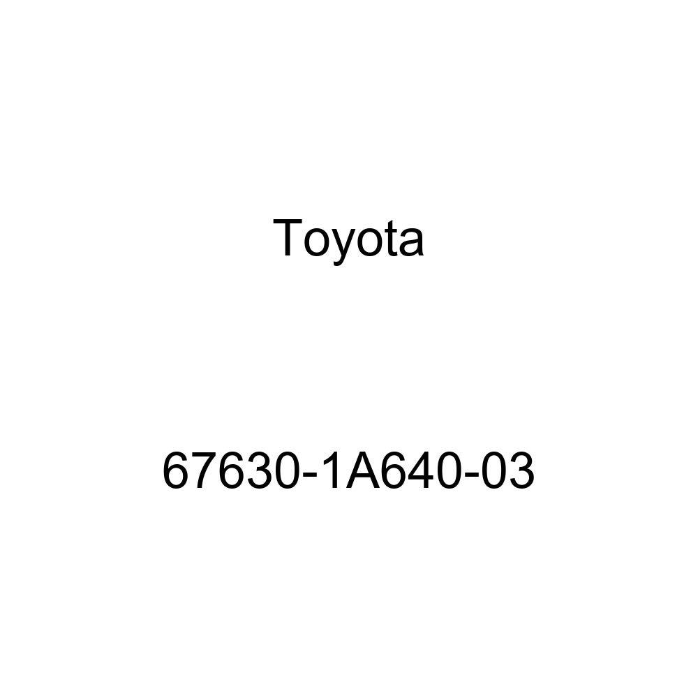 Genuine Toyota 67630-1A640-03 Door Trim Board