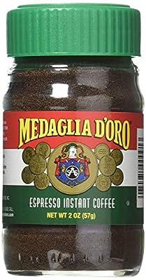 Medaglia D'Oro Espresso Instant Coffee, 2 Oz (2 Pack) from Medaglia D'Oro