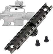 Gexgune M16 M4 AR15 Carry Handle 20mm Weaver Rail - Mount Laser/Torch
