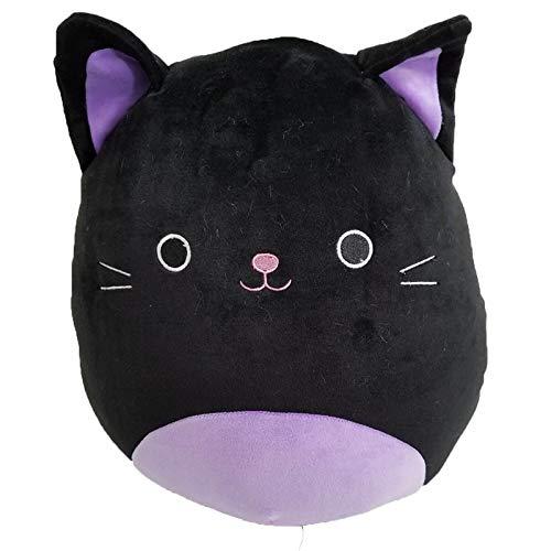 Black Cats Around Halloween (Squishmallow Kellytoy Halloween Squad 12 Inch Autumn The Black Cat- Super Soft Plush Toy Pillow Pet Animal Pillow Pal Buddy Stuffed Animal Birthday Gift)