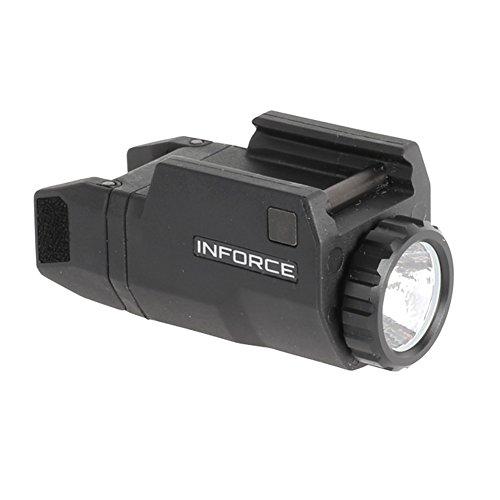 InForce APLc Compact WML Weapon Mounted White Light For Glock Auto Pistol 200 Lumens Black ACG-05-1 (Used Glock 30 Gen 3 For Sale)