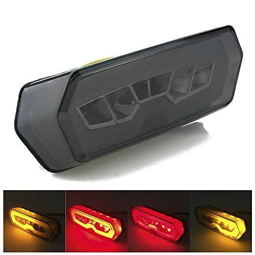 Heinmo Motorcycle LED Brake Tail Light Rear Turn Signal For MSX125 CBR650F 2014-2016 Grom Rider LED tail light lamp Tali ()