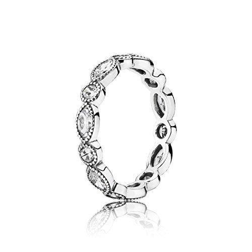Pandora Ring-56 femmes 190940CZ Plata zircons