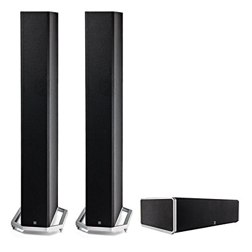 Definitive Technology 3.0 System with 2 BP9060 Tower Speakers, 1 CS9060 Center Channel Speaker by Definitive Technology